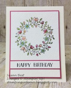 Circle of Spring, Stampin' Up!, What Will You Stamp?, WWYS, stampinginferno.blogspot.com