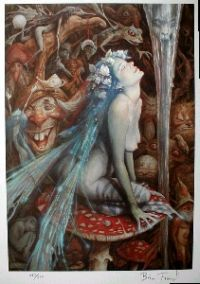 CATERPILLAR'S MUSHROOM by Brian Froud (Ltd)
