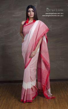 Temple Border sari.daily wear saree.saree for women.sufiyaart Yellow green handloom Pure Cotton khadi Saree.saree With Blouse Piece