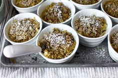 multi grain apple crisp