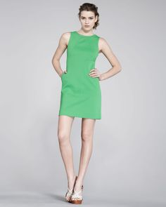diane von furstenberg capreena twill shift dress