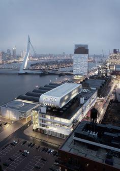 Nederlands Fotomuseum, Rotterdam, Zuid-Holland.