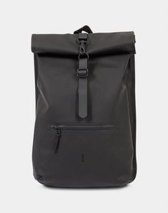 Order the Rains Roll Top Rucksack Black today from The Idle Man, your online destination for all of your Men's fashion needs. Rain, Mens Fashion, Black, Rain Fall, Moda Masculina, Man Fashion, Black People, Fashion For Men, Men's Fashion