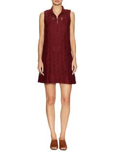 Lace And Lace Up Shift Dress by Marabelle at Gilt