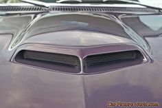 1967 GTO Hood Scoop Picture (800 by 533).