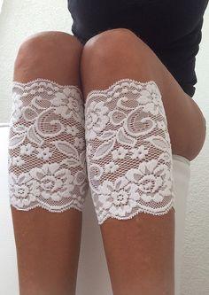 Boot Socks Lace Boot Cuff Socks Leg Warmer Women's by fairstore, $14.90