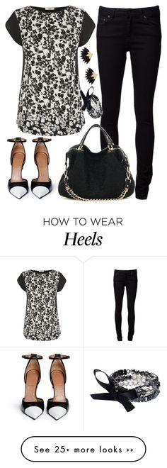 """Untitled #2581"" by emmafazekas on Polyvore featuring мода, Oasis, Naked & Famous, Givenchy, Simply Vera и River Island"