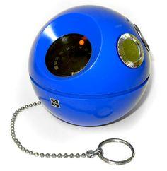 Blast from the past Panasonic round radio, the Ipod of the 70's.