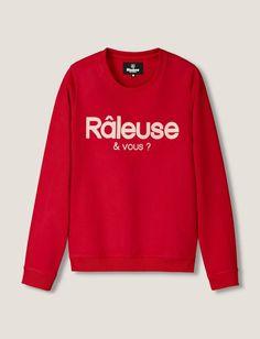"""Sweat message """"Râleuse"""""""