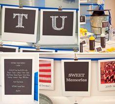 PICTURE Your FUTURE Collection - Printable Graduation Party Décor. $20.00, via Etsy.