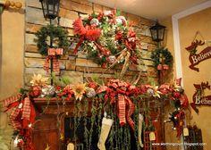Christmas Decor via Worthing Court blog