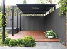 12 Pergola Patio Ideas that are perfect for garden lovers! Pergola Design, Pergola Patio, Backyard, Modern Pergola, Modern Landscaping, Pergola Kits, Outdoor Rooms, Outdoor Gardens, Outdoor Living