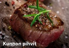 Beef Eye Fillet is a lean and tender cut of meat that can be used for several meal options. Roast it whole or cut into thick steaks and pan-fry or char-grill. Fillet Steak Recipes, Beef Recipes, Cooking Recipes, Savoury Recipes, Cooking Tips, Recipies, Filet Steak, How To Cook Beef, Rezepte