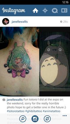 Miyazaki tattoo