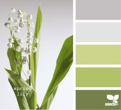 Wedding colors schemes spring design seeds ideas for 2019 Colour Pallette, Color Palate, Colour Schemes, Color Combos, Green Palette, Design Seeds, Palette Verte, Palette Design, Colour Board