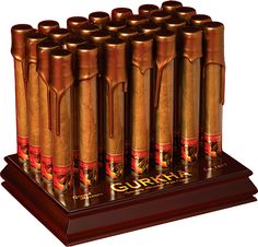 Gurkha Grand Reserve cigars are one of the best cigars I have smoked. The cigar is infused with Louis XIII cognac. This cigar has a great taste and it burns evenly. It is  a smooth cigar that your palate and taste buds will enjoy.