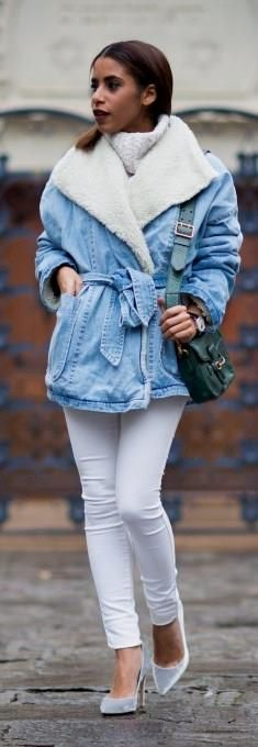 Denim In The City / Fashion Look by The Fierce Diaries