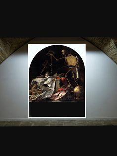 SALA 6. AUTOR: Valdés leal TÍTULO: «In acto oculi» AÑO: 1642 Técnica: óleo sobre lienzo Medidas: 220 x 216 m