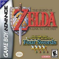Legend of Zelda a Link to the Past Nintendo Game Boy Advance GBA Used