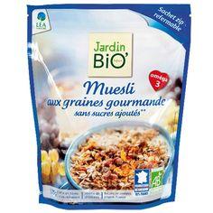 Muesli aux graines gourmandes sans sucres ajoutés bio