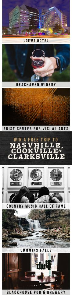 We're giving away a free family trip to Tennessee. Simply match all the same amazing spots in this pin at TNVacation.com, and you'll be entered for a chance to win!