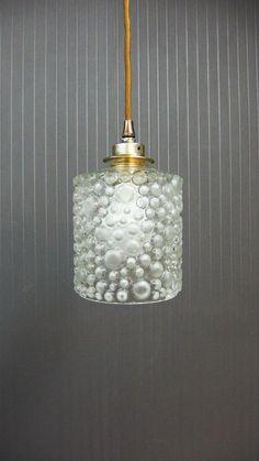 Vintage pendant light 1960 midcentury by CustomLightShop on Etsy