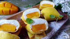 Hong Kong style mango pancake (芒果班戟)