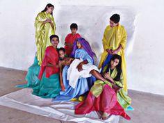 """""""Pietá"""" com alunos da 8ª série - Colégio  Pe. Ângelo Moretti - Ourém Pa/2013."""