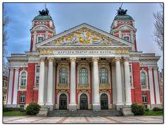 Ivan Vasov National Theatre, Sofia, Bulgaria