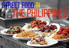 Examples of Various Philippine Street Food Dishes. Filipino Street Food, Filipino Food, Starting A Food Truck, Good Food, Yummy Food, Best Street Food, Filipino Recipes, World Recipes, Food Presentation