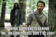 LOL meme funny Walking Dead zombie Rick Grimes