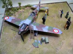 "Azur 1/32 Dewoitine D. 520 ""Photo Op 1940"" | Large Scale Planes"
