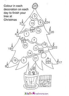 Advent tree image