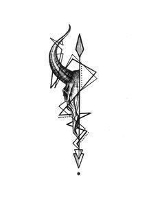 Design by Alexandra Yarushina – taurus constellation tattoo Taurus Bull Tattoos, Bull Skull Tattoos, Capricorn Tattoo, Body Art Tattoos, Tattoo Drawings, Sleeve Tattoos, Cool Tattoos, Aries Zodiac Tattoos, Taurus Aries