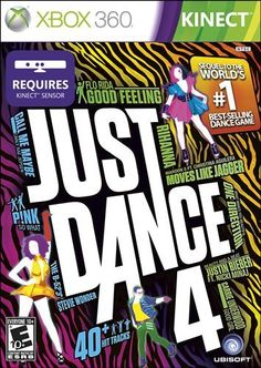 Just Dance 4 - The world's #1 dance game brand is back with Just Dance 4! The latest edition of the record-breaking franchise takes the party to a whole new level of fun, with over 40 all-new chart-topping hits, the coolest dances and unique features