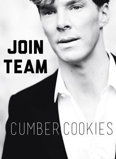 """'Cause together we're a Cumber-batch!"" :D"