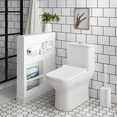 Swiss Madison Carre GPF Dual Flush Square Toilet in White, Seat Included, Glossy White Personalized Bathroom, Bathroom Interior, One Piece Toilets, Bathroom Renovation Diy, Bathroom Toilets, Bathroom Decor, Bathroom Design, Bathroom Renovations, Bathroom Remodel Master