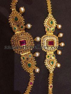 Jewellery Designs: 35 Grams Uncut 2 in 1 Armband