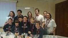 #FLLMadrid el colegio del Recuerdo después de la presentación del proyecto..Enhorabuena campeones!! Estamos orgullos!