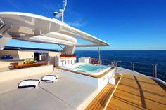 Superyacht Zaphira by Benetti Yachts -> все о больших и малых яхтах на портале www.ruyachts.com #yacht #yachts #yachting
