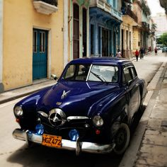 It's absolutely mind-boggling the condition of these antique cars on the streets of Cuba...