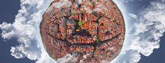 """Niemal każdy marzy o dalekich podróżach, ale kto ma na to czas? Janis Petke udowadnia jednak, że nawet podróże """"palcem po mapie"""" mogą przynieść ciekawe efekty. Tak właśnie powstała seria grafik """"Little Planets"""". http://exumag.com/little-planets-janisa-petke/"""