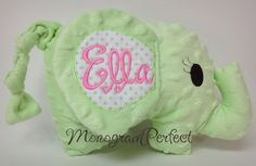 Ella Personalized Floppy Ear Plush Stuffed by MonogramPerfect, $24.95