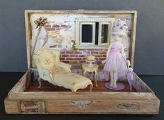 This is how she made the shabby fairy room! by Torisaur, via Flickr