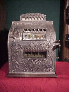 Machine is in mint condition. Complete and all original with key included. Machines works good in excellent restored condition. Gambling Machines, Vending Machines, Golden Oak, Slot Machine, Game Room, Restoration, Fortune Teller, Antiques, Boys