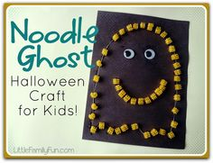 Fun & easy Ghost Craft for Halloween