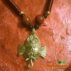 Dokra Tribal Necklace Ganesh