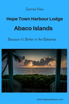 Hope Town Harbour Lodge is a delightful collection of historic buildings and charming cottages perched on a tiny hill in the village of Hope Town, on the northern tip of Elbow Cay, a narrow 8-mile-long island in the Bahamas' Abaco Islands. #hotel