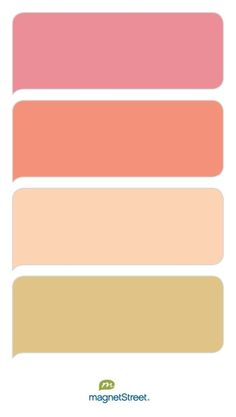 My Colors | Free Custom Color Swatches from MagnetStreet.com