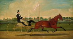 Charles Humphreys : The Trotter Giclee Fine Art Print - Giclee Art - Ideas of Giclee Art Oil On Canvas, Canvas Art, Canvas Prints, National Gallery Of Art, Art Gallery, Charles Spencer, Harness Racing, Road Transport, 12 Image